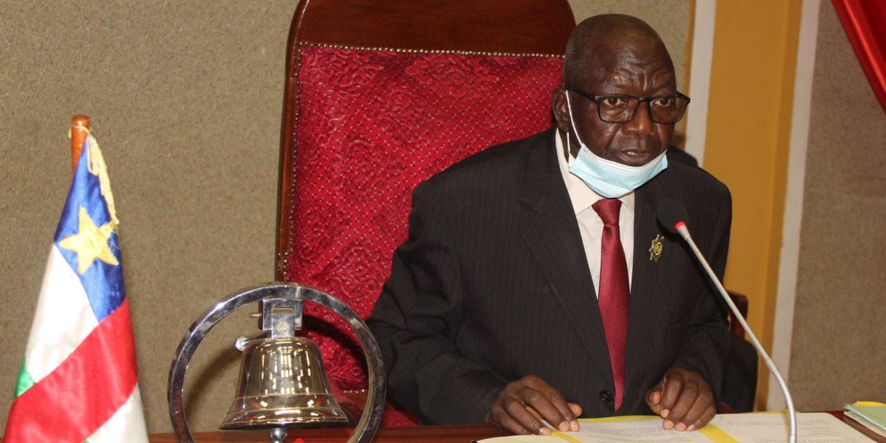 Centrafrique : Vote de la loi portant statut des députés