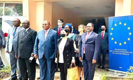 Le Président Centrafricain lance le Programme d'appui au développement rural