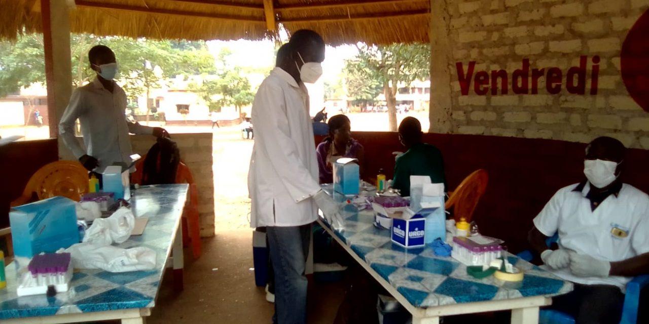 Une campagne de dépistage volontaire du VIH/Sida à l'Université de Bangui