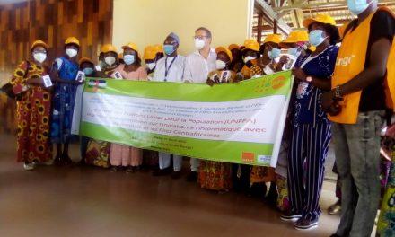 Centrafrique : L'UNFPA forme des  femmes sur le numérique