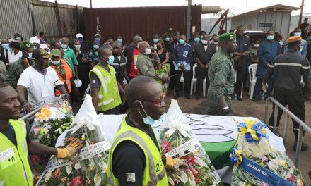 L'arrivée à Bangui du corps de Désiré Nzanga Bilal Kolingba
