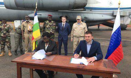 Centrafrique : 3eme livraison d'armes russes aux autorités Centrafricaines