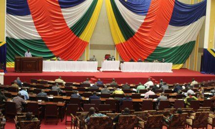 Centrafrique : Rentrée parlementaire ce jour de la 7e législature