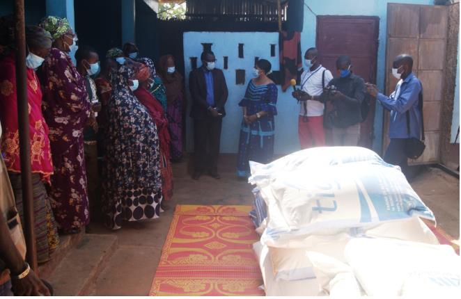 Un Don du président Touadera au Bureau National des femmes musulmanes