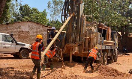 Démarrage des travaux de 50 forages par la Mairie de Bangui