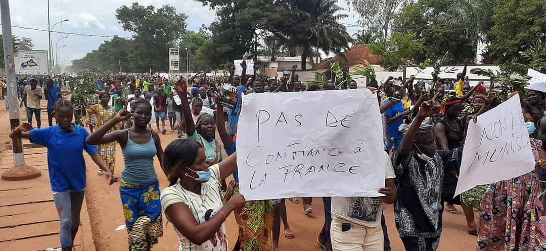 Centrafrique : Une marche à Bangui contre la Minusca et la RFI