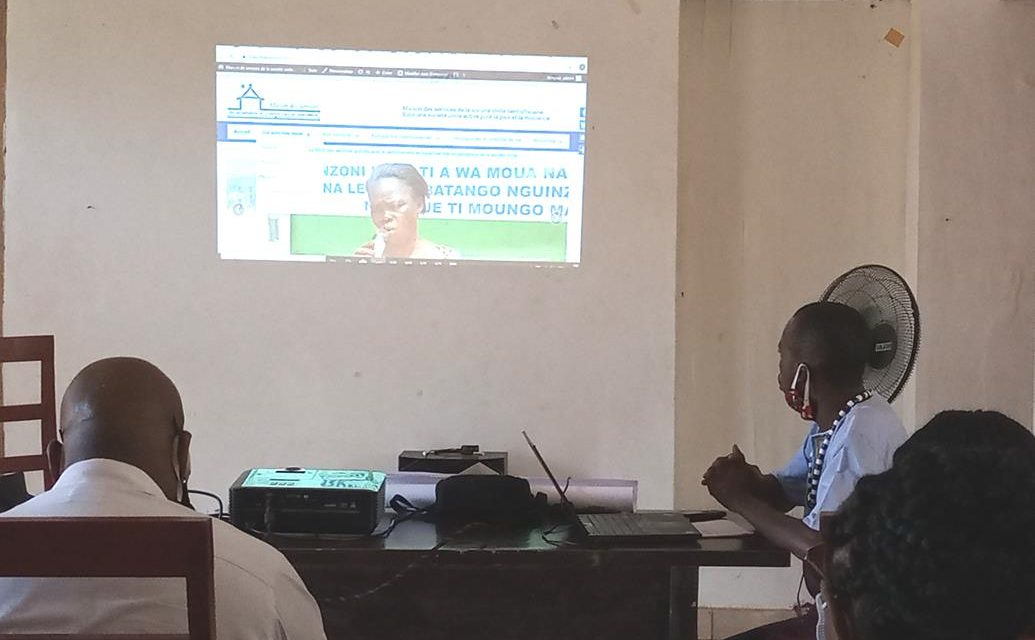 Centrafrique : Lancement du site web de la Maison des Services de la Société Civile