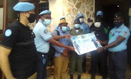 Centrafrique : Lancement officiel de la ligne verte 1325