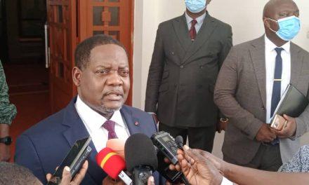 Firmin Ngrebada : « La démission du gouvernement ne dépend pas de moi ».
