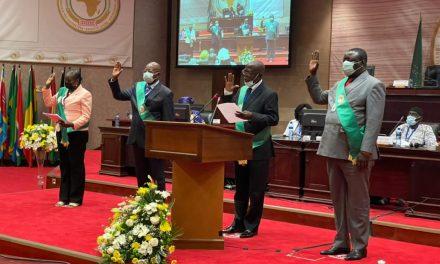 Des députés Centrafricains prêtent Serment au parlement africain