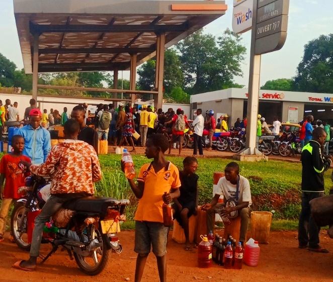 Centrafrique : Crise de carburant et ses conséquences économiques