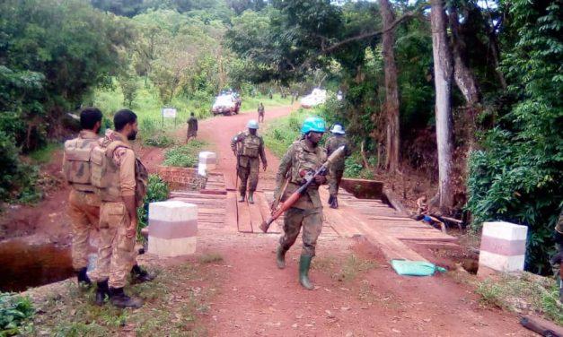 Centrafrique : Les casques bleus de la Minusca sécurisent Bakouma depuis dimanche