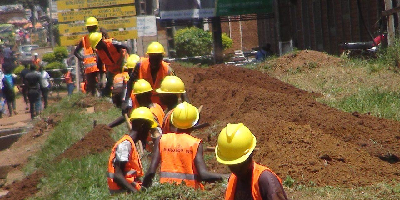 Le Projet CAB-RCA et  la procédure de recrutement des ouvriers