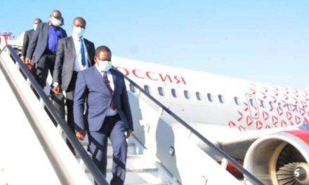 Centrafrique : Une délégation centrafricaine participe au Forum Economique de St. Petersburg