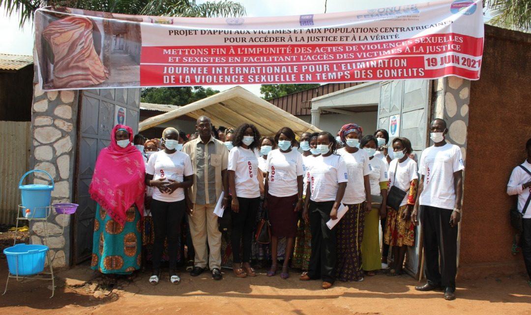 Centrafrique : ONU Femmes sensibilise les femmes sur les droits des victimes des VBG