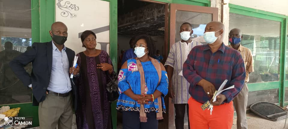 Centrafrique : Suivi des travaux de réhabilitation de l'hôtel du Centre