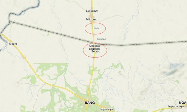 Sourou, village appartenant à la Centrafrique ?