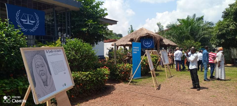 Centrafrique : Exposition de « l'Ombre à la Lumière », la CPI rend hommage aux victimes de violence sexuelle