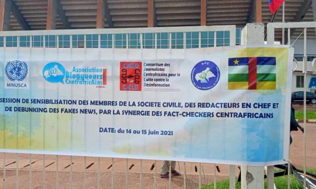 Centrafrique : Journalistes, Fact-Checkers, blogueurs et acteurs de la société civile autours de lutte contre la désinformation