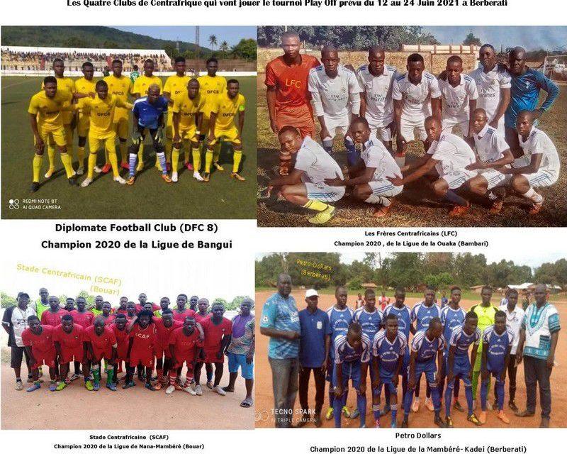 Centrafrique :  Football, Coup d'envoi ce samedi du play-off à Berberati