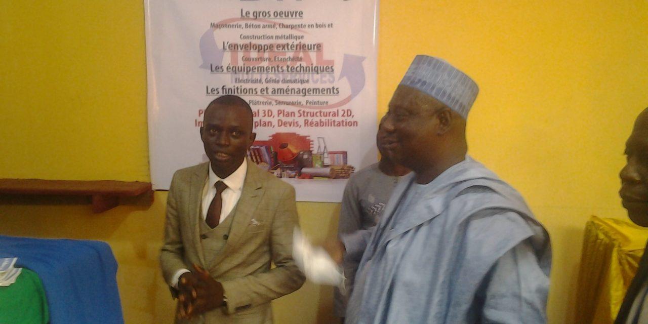 Centrafrique : Inauguration du siège de l'entreprise IDEAL Multi-Services