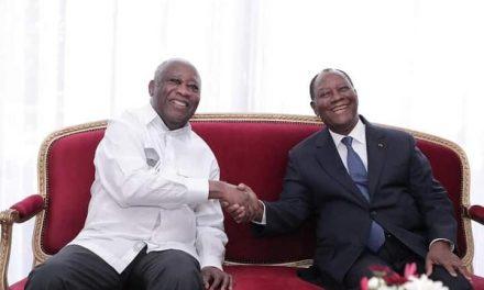 Côte d'Ivoire : Rencontre Alassane Ouattara et Laurent Gbagbo. Qui pouvait croire ?