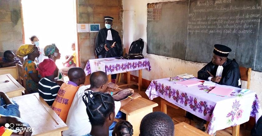 Centrafrique : Focus sur les audiences foraines à Alindao facilitées par le NRC