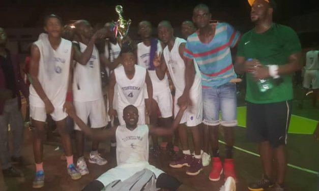 Centrafrique : Le club Tondema sacré champion du Play-off 2021  en Basket-ball