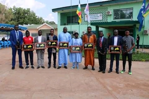 Centrafrique : La Ligue de football de Bangui honore dix acteurs de la saison sportive 2020-2021