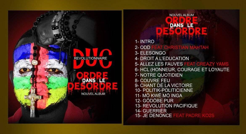 Centrafrique: «Ordre dans le désordre», le premier album de Merlin Mexant Manguereka