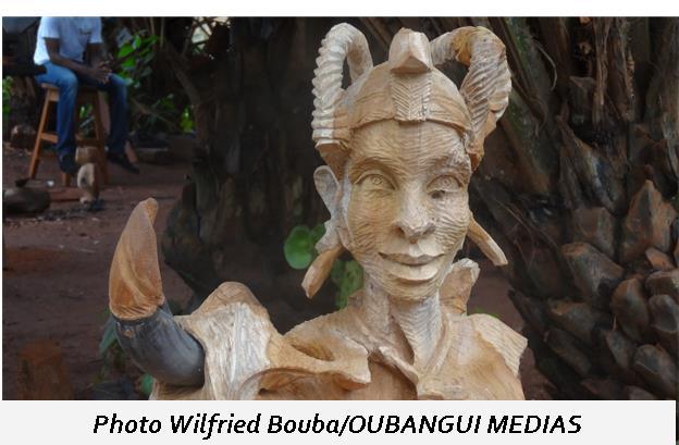 Les œuvres d'artisanales : Une richesse culturelle et touristique de la Centrafrique