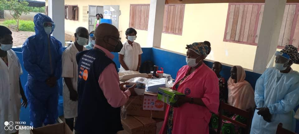Centrafrique: L'UNFPA remet des kits d'hygiène au centre de santé de Liton
