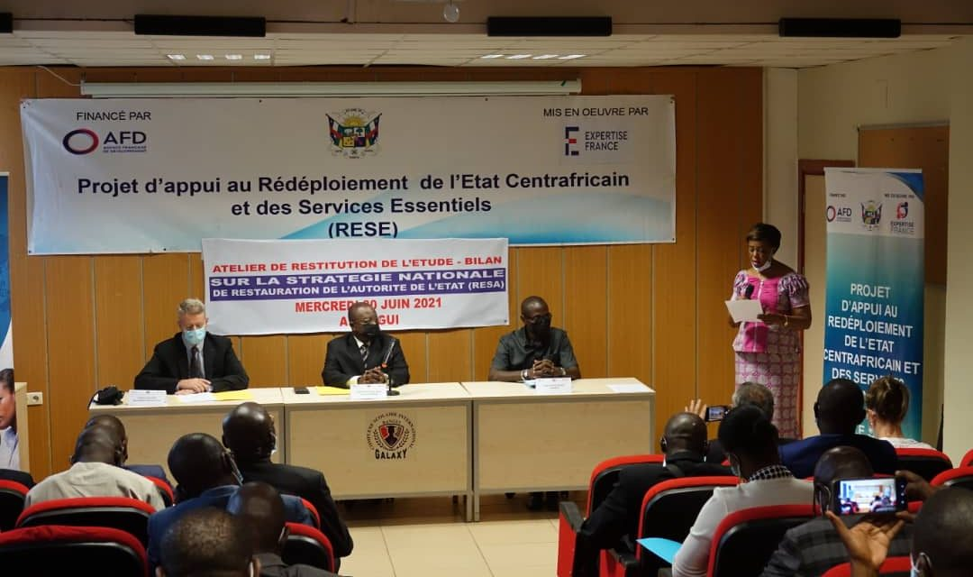 Centrafrique : La RESA et le RESE se penchent sur la problématique des services essentiels aux populations
