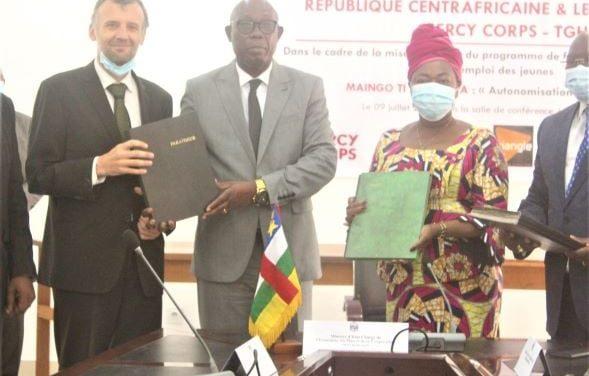 Centrafrique : 6,5 milliards de FCFA de l'AFD pour le programme de formation et emplois des jeunes