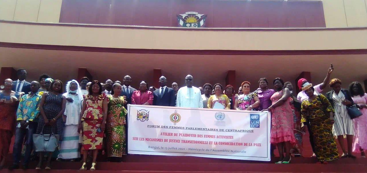 Centrafrique: Les femmes parlementaires s'emparent de la question de la justice transitionnelle
