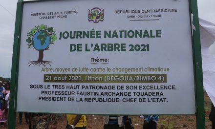 Centrafrique : Célébration de la 37ème Journée Nationale de l'Arbre