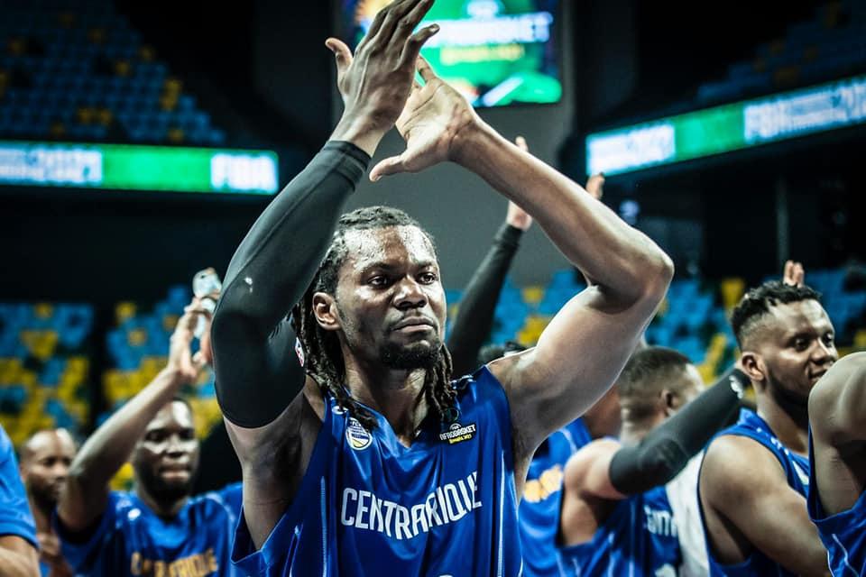 Afro basket : Courte victoire des fauves de Bas-Oubangui face à la Guinée