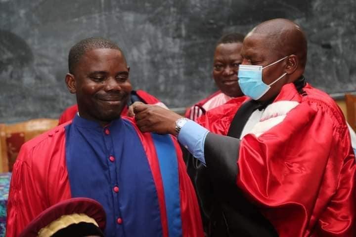 Centrafrique : Brice Martial Yambiyo  intègre le cercle des docteurs en mathématique