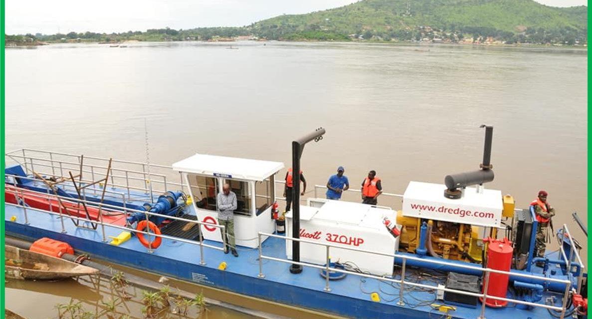 La RCA veut viabiliser le transport fluvial sur l'Oubangui pour booster l'économie et sécuriser l'approvisionnement