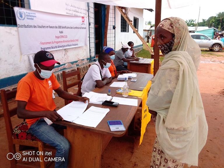 Centrafrique : NRC distribue de coupons alimentaires à 3000 personnes vulnérables Berberati