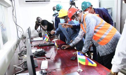 Centrafrique: Lancement de l'usine de Boali 2
