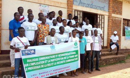 Centrafrique: L'ONG URU milite pour la représentativité féminine dans la RSS
