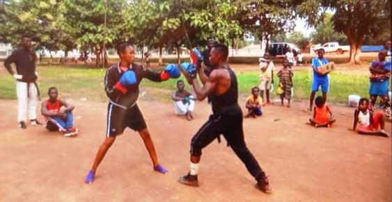 """Centrafrique : Le """"Club Full-Contact de Bimbo prépare activement la compétition de Karaté du 13 aout"""