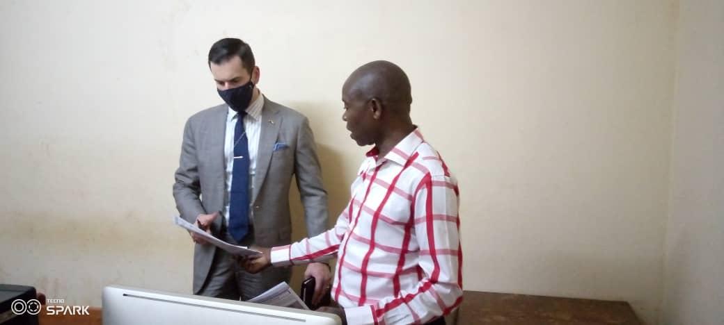 Centrafrique: Visite de l'ambassade des États-Unis au DSIC