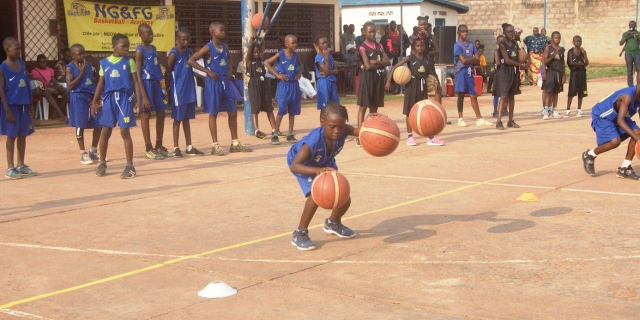 Centrafrique : G&FG Basketball-Academy forme des jeunes en  Basketball