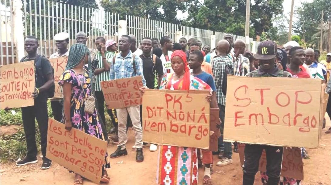 Centrafrique : Le Mouvement pour la Paix au Km5 demande le soutien des USA pour la levée totale de l'embargo sur les armes