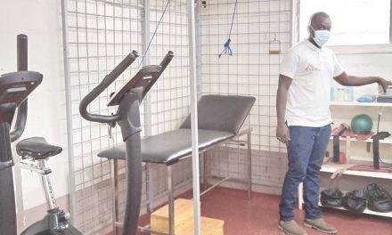 MSF promeut le développement de la kinésithérapie en Centrafrique