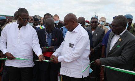 Centrafrique : Inauguration d'une Base Logistique des FACA au PK 22