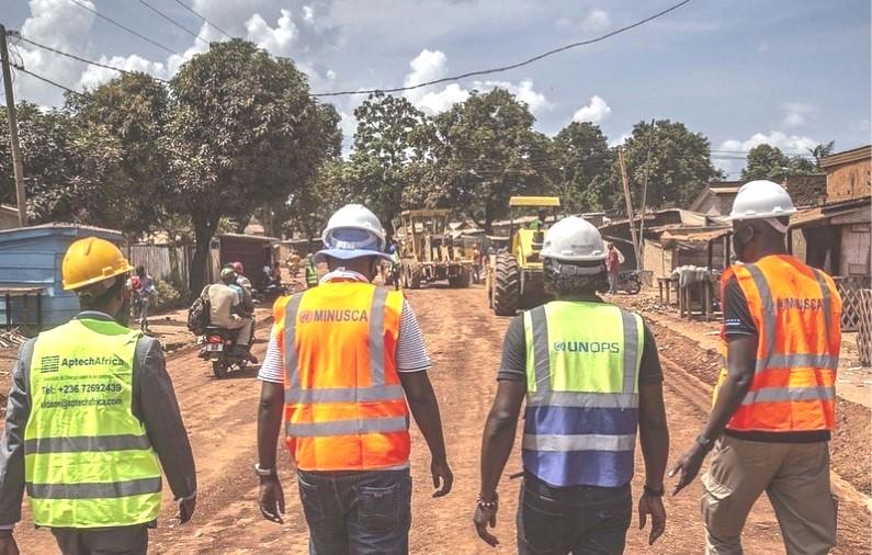 Centrafrique : La Minusca affirme financer 98 projets pour 1,6 milliards de FCA en un an