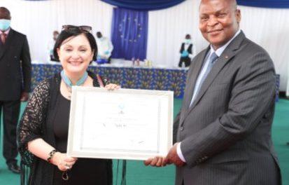 Discours d'au-revoir de Samuela Isopi, ancienne ambassadrice de l'Union Européenne en RCA
